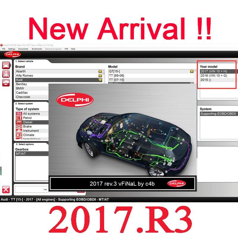 Ds150e 2017. r3 mais novo vd ds150e 2017. r1 software keygen como presente para delphis autocome suporte 2016 anos modelos de carros caminhões