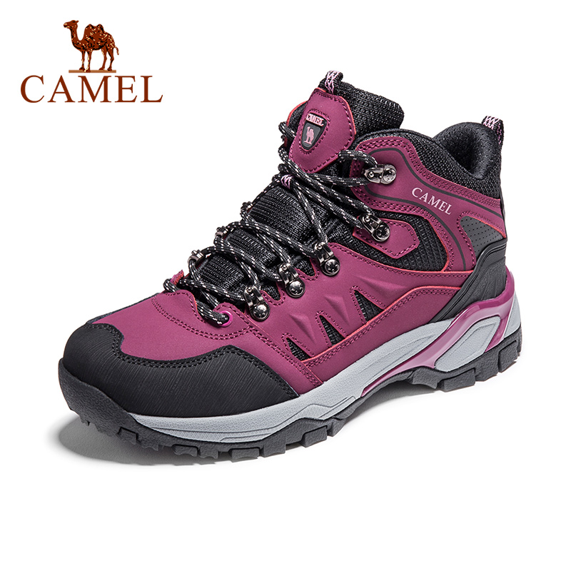 CAMEL New Women Shoes High Top Hiking Antiskid Breathable  Mountain Cushioning Climbing Trekking Boots Outdoor Sports ShoesHiking  Shoes