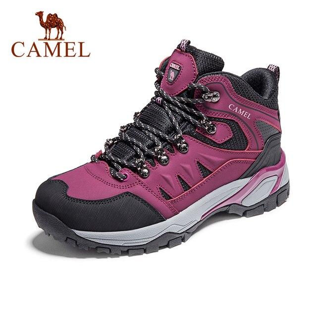 KAMEEL Nieuwe Vrouwen Schoenen High Top Wandelen Antislip Ademend Mountain Demping Klimmen Trekking Laarzen Outdoor Sportschoenen