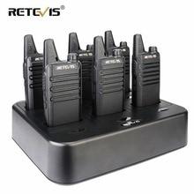 6  voies talkie-walkie
