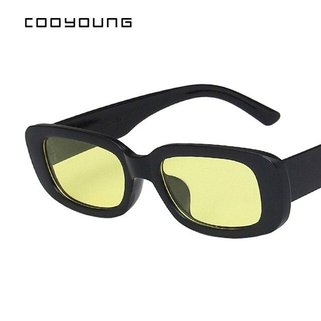 Rectangle Sunglasses- Women Vintage Shades UV400 6