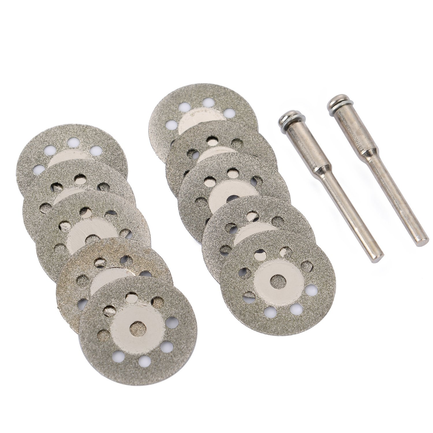 8 Sets 10Pcs Diamond  Grinding Wheel Saw Circular Cutting Disc Rotary Tool Diamond Discs Blades Power Tools Accessories 22mm D30
