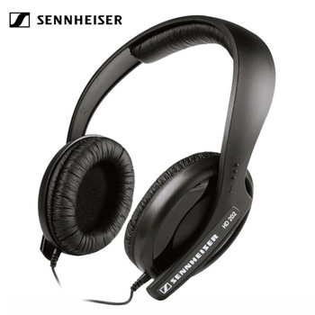 Sennheiser HD202 Deep Bass Headphones 3.5mm Wired Noise Isolation Stereo Earphone Sport Gaming Headset for Smartphones Music somic g941 headphones for computer gaming headset with microphone wired usb bass headphone for pc