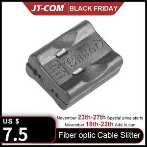 Image 1 - Fiber optik kablo ceket eğme Fiber optik alet uzunlamasına ışın tüpü gevşek tüp arayüz bıçak stripper Fiber gevşek tüp
