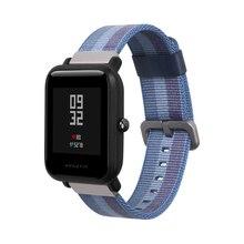 Nylon-Strap-Armband Amazfit Bunte für Huami Amazifit Bip bip Lite Splice SIKAI Smart Uhr Strap Band