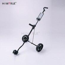 Portable Golf Pull Cart Adjustable Golf Trolley Cart 2 Wheel Push Pull Golf Cart Aluminium Alloy Foldable Trolley Golfkocsik