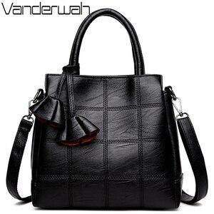 Image 2 - Sac Casual Tote Leather Luxury Handbags Women Bags Designer Handbags High Quality Ladies Corssbody Hand Bags For Women Bolsas