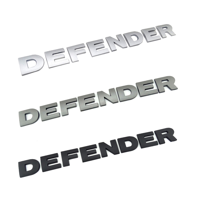 3D Автомобильная наклейка для Land Rover Defender Head Hood Nameplate автомобильный Стайлинг стерео письма значок логотип наклейка Defender Hood Stickaer