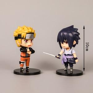Image 2 - Naruto Ninja Hände Puppe Auto Zubehör für Mädchen Ornamente Dashboard Dekoration Innen Anhänger Hängen Sasuke Kakashi