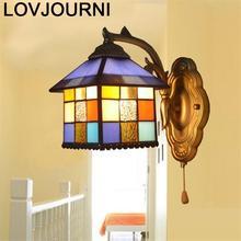 Stair Sconce Luminaria Parede Penteadeira Lamp Deco Mural Applique Murale Luminaire Bedroom Lampara De Pared Interior Wall Light