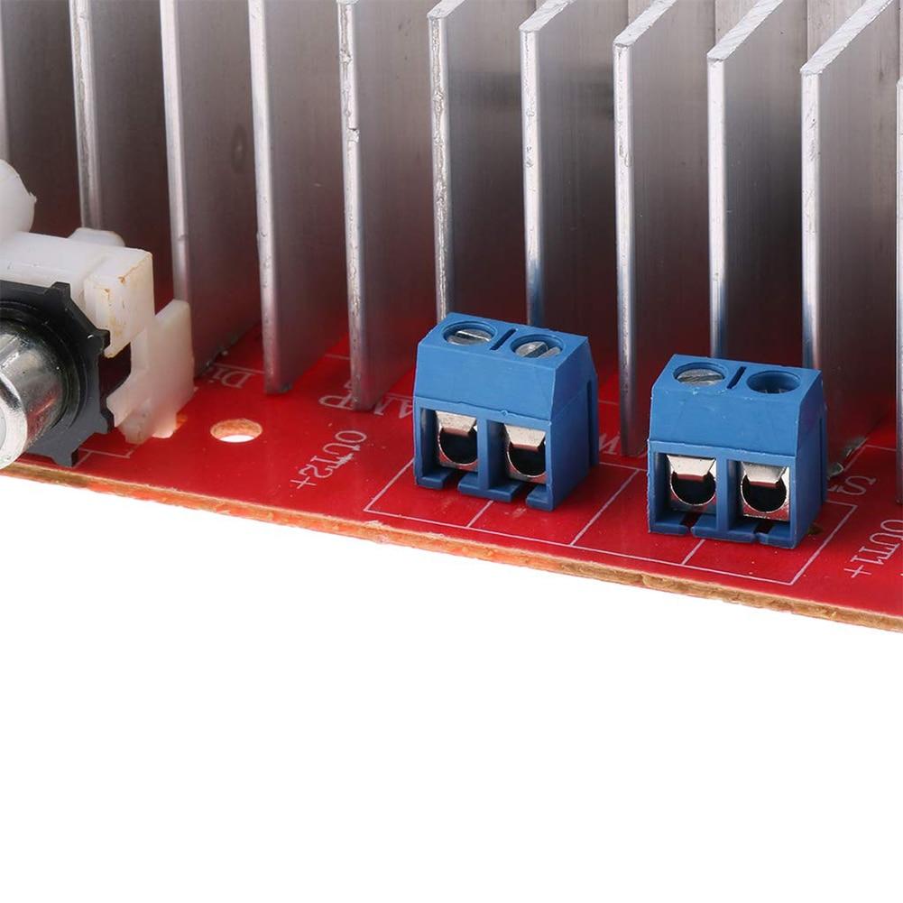 1PCS DC 12V 9V-16V Mini TDA7377 Dual Channel Stereo 35W*2 Audio Power Amplifier