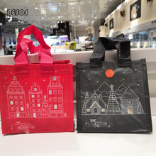 Creative Wholesale Castle Plastic Waterproof Gift Bag Christmas Party Activities Candy Snacks Toy Packaging Decorative Gift Box(China)
