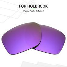 Mryok Anti Scratch POLARIZED Replacement Lenses for Oakley Holbrook Sunglasses Plasma Purple