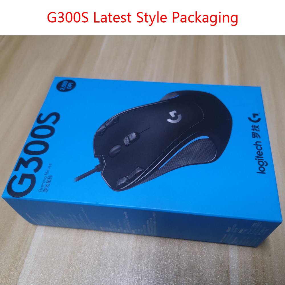 Image 5 - Logitech G300S Wired Gaming Mouse Designed for MMO Mouse 2500DPI 9 Rechargeable Programmable Buttons for Laptop PC Mouse Gamer-in Mice from Computer & Office