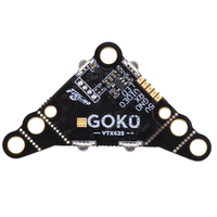 Flywoo GOKU VTX625 PIT 25mW 50mW 100mW 200mW 450mW VTX Switchable FPV Transmitter 5V 30x30x4mm for FPV Racing RC Drone Toothpick|Parts & Accessories| |  -