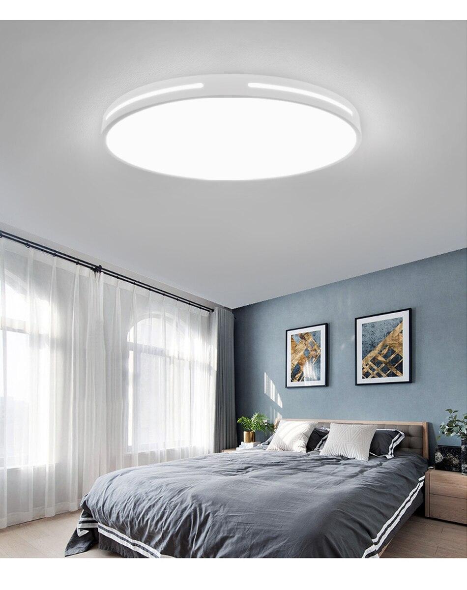 H699c0e70931643e7a83e6120392389914 Modern LED Ceiling Light Simple Decoration Fixtures for Study Dining Room Bedroom Living Room Balcony Ceiling Lamp AC110v 220v