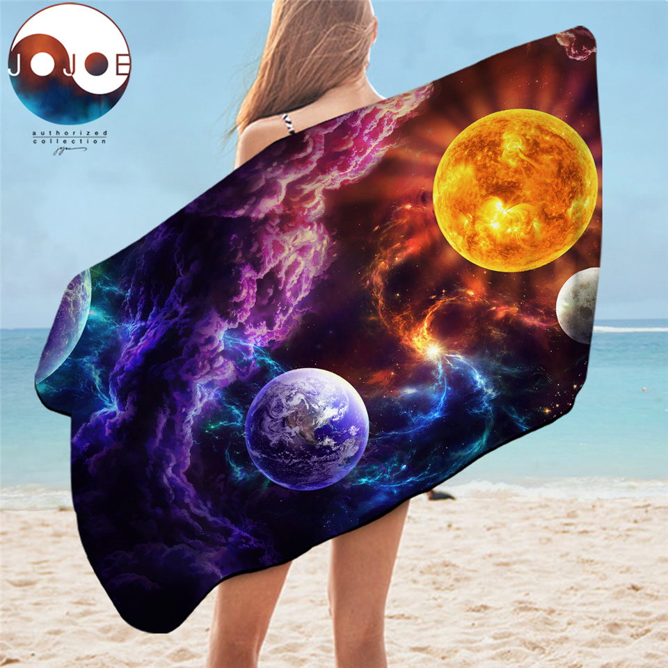 Plan of Salvation by JoJoesArt Beach Towel Planet Microfiber Bathroom Towel Galaxy Nebula Large Towel Outer Space Travel Blanket 1