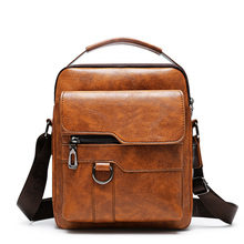 Luxury Brand Men Bag pu Leather Messenger Men