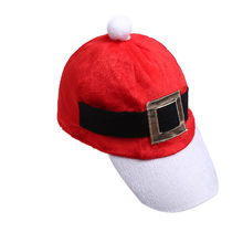 Patchwork Metal decoration Funny Party Christmas Tree Costume Christmas Baseball Cap Children Adult Hat Spring visera mujer(China)