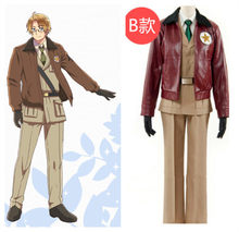Axis Powers Hetalia Alfred F. Jones America Military Uniform Cosplay Costume Outfit Halloween Costumes for Men Adult Custom Made(China)