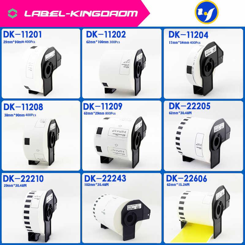 Inc DK-11201,11202,11203,11208,11209,22205 22210 DK Brother Compatible Labels