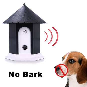 Ultrasonic Dog Anti Bark Repeller Outdoor Dogs Bark Control Trainer Anti Barking Device No Bark Training Equipment Pet Supplies фото