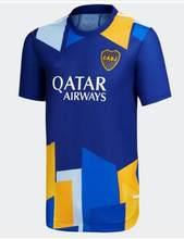 Nova boca juniors camisas 2021 2022 carlitos maradona tevez de rossi 21 22 camisa de futebol masculino 3rd