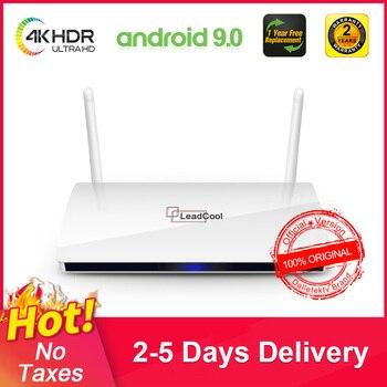 Leadcool 4k TV Box Android QHDTV Amlogic s905w Spain italia Germany Protugal IP Belgium Nederland Morocco BOX NO APP include