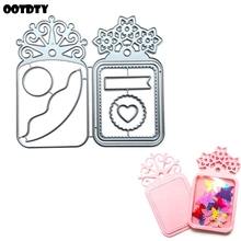 Flower Tag Metal Cutting Dies Stencil Scrapbooking DIY Album Stamp Paper Cards Embossing Decor Craft Art New Dies for 2020 azsg 2018 new arrival tree heart shaped embossing plates design diy paper cutting dies scrapbooking plastic embossing folder