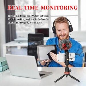 Image 2 - Boya micrófono condensador inalámbrico para teléfono inteligente, micrófono condensador supercardioide para cámaras DSLR, BY MM1 y vídeo