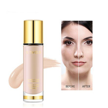 Liquid Face Foundation Moisturizing Primer Makeup Face Concealer Whitening Waterproof Makeup Foundation Full Coverage Primer o two o foundation liquid concealer cream waterproof full coverage concealer long lasting face scars acne moisturizing makeup
