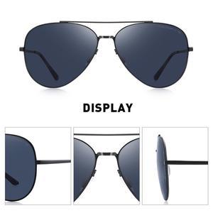 Image 3 - MERRYS DESIGN Männer Klassische Pilot Sonnenbrille CR39 HD Polarisierte Objektiv Herren Brillen Für Fahren Angeln UV400 Schutz S8226