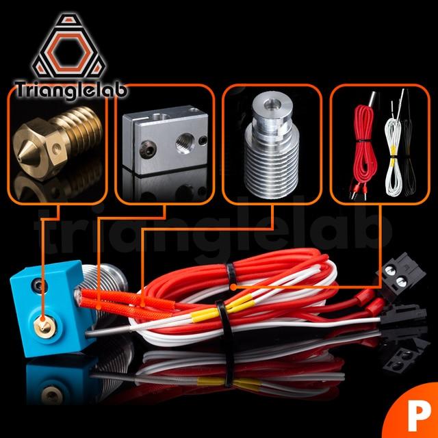 TriangleLAB V6 Hotend pre assambled unit for PRUSA i3 MK3 MK3S MK2/2.5