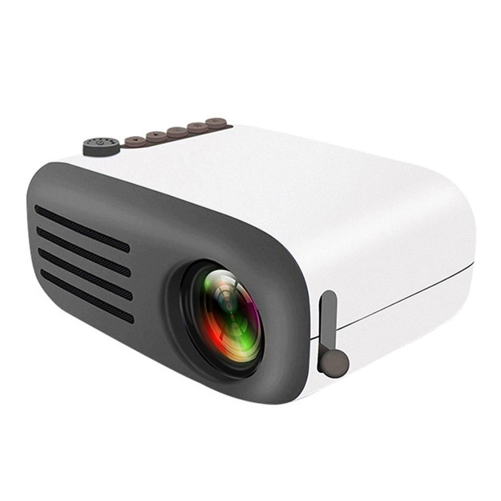 YG200 Mini projecteur à LED portable haute définition AV USB SD HDMI vidéo projecteur film jeu Home Party cinéma