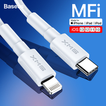 Baseus BMX MFI 18W PD USB C Cable For Lightning For iPhone 11 Pro Max Xs Max Xr X 8Plus Fast Charging Cable for Macbook iPad Pro семена кабачок белоплодные 1 5г