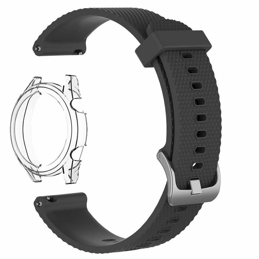 Bracelets de montre de couleur petit bracelet de montre de remplacement de sport en Silicone pour Huawei Watchgt 46mm montre bracelet intelligent #40