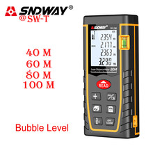 SNDWAY Trena Laser Range Finder Tool Laser Distance Meter Measuring Tape Telemetre Laser Meter Device Ruler Test Laser Measure(China)