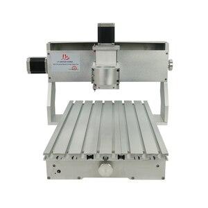 Image 4 - CNC 3040 Rack Engraving Machine Frame 4Axis Kit With Nema23 Stepper Motors CNC Lathe 300x400mm DIY Parts