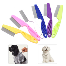 Protect Flea Comb For Dog Cat Hair Fur Shedding Grooming Comb Comfort Cleaning Tool