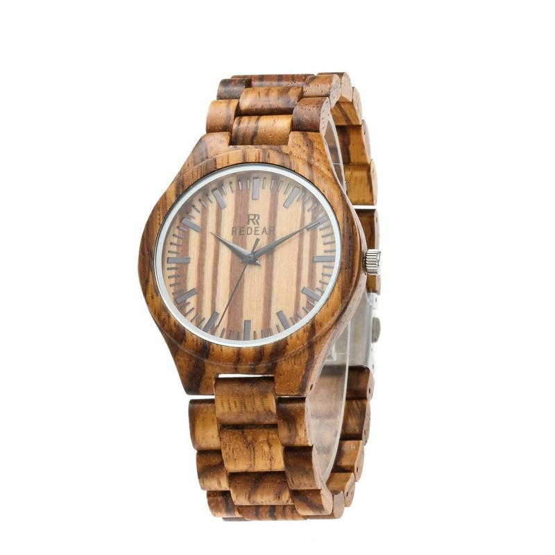 2020 Direct Selling Special Offer Hot Zebra Wood Color Watches Amazon Style Wooden Table A International Undertakes