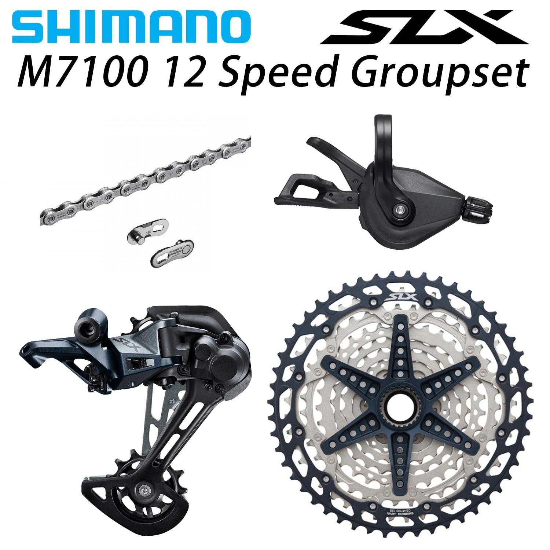 シマノ M7100 1 × 12 22 速度 10 51 39t Sl + rd + cs + hg M7100 シフターリアディレイラー -