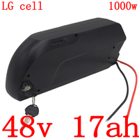 36V 48V 52V lithium battery pack 36V 48V 52V 10AH 13AH 17AH 20AH electric bicycle battery for 500W 750W 1000W ebike motor kit|Electric Bicycle Battery|   -