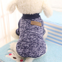 New Dog Clothes for Small Dogs Soft Pet Dog Sweater Clothing for Dog Winter Chihuahua Clothes Classic Pet Outfit Accessories