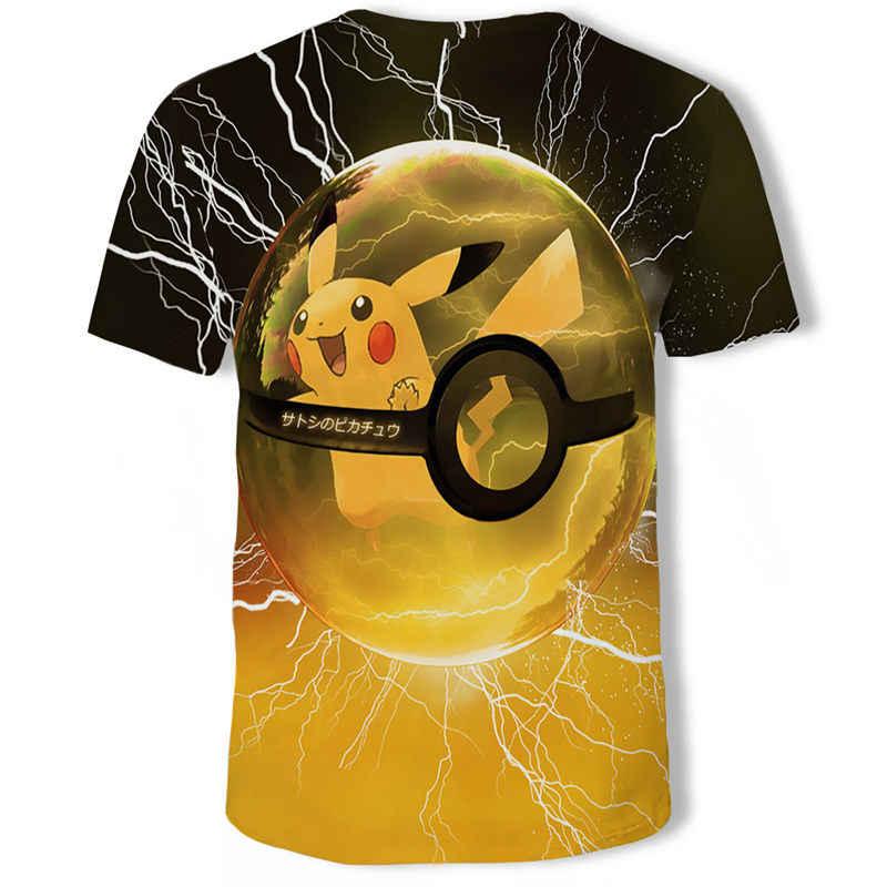 Футболка с 3D принтом Темного рыцаря, мужская повседневная футболка с круглым вырезом и изображением Джокера, мужские футболки с короткими рукавами, модная футболка с покемоном для косплея