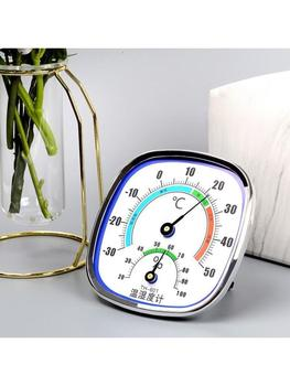 Analog Thermometer Hygrometer Temperature Monitor Humidity Gauge Indoor Outdoor R9JC 2