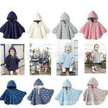 Children baby cape Winter Clothes for boys Jacket Autumn Cloak Coat Kids Warm Thick Hooded Toddler Girls teen clothes Halloween iyeal little rabbit thick warm clothes fashion cute baby infant girls autumn winter hooded coat cloak jacket for 1 4 years