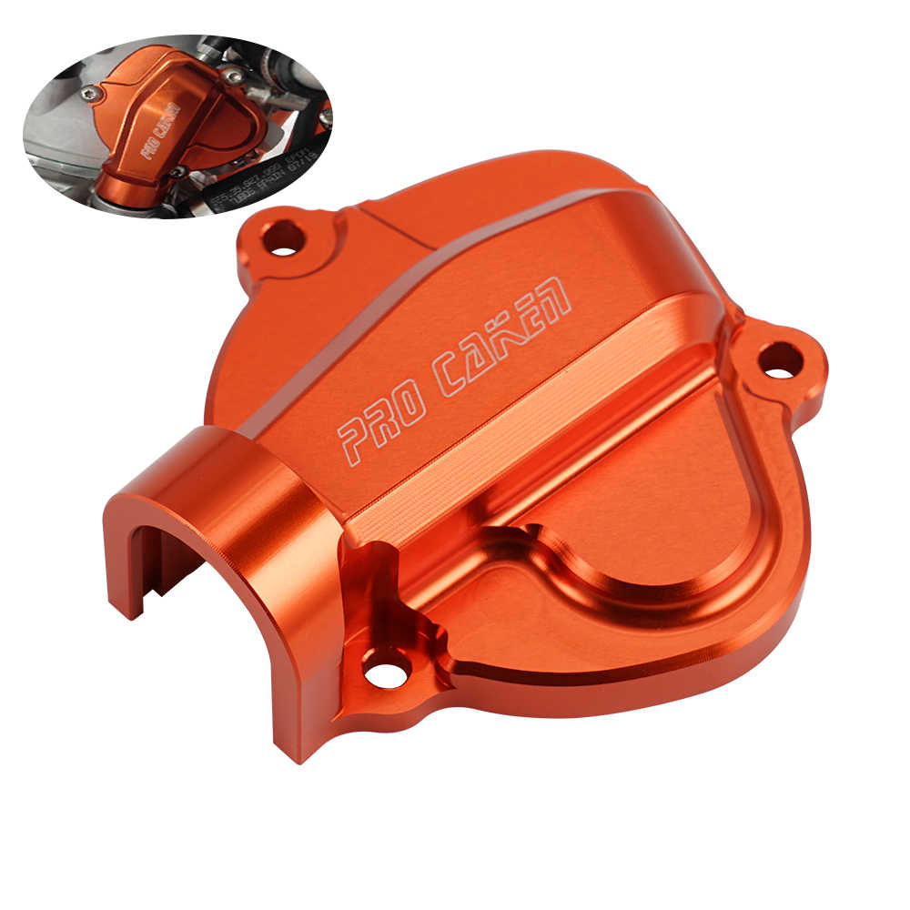 CNC Anodized Knalpot Motor Control Cover untuk KTM 250 300 XC SX Xcw TPI EXC Six Days 2019 2020 Sepeda Motor aksesoris