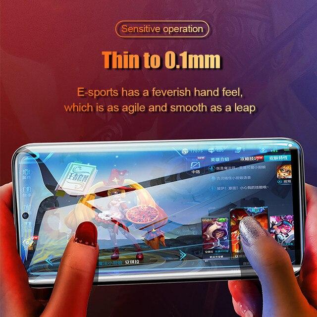 3 sztuk 100D ochraniacz ekranu dla Huawei P40 P30 Pro P20 lite hydrożel Film dla Huawei Mate 20 30 Pro Lite P inteligentny 2019 miękki Film