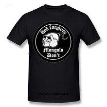 Mais novo verão moda masculina t camisa mongols mc para o-pescoço topos clube camiseta