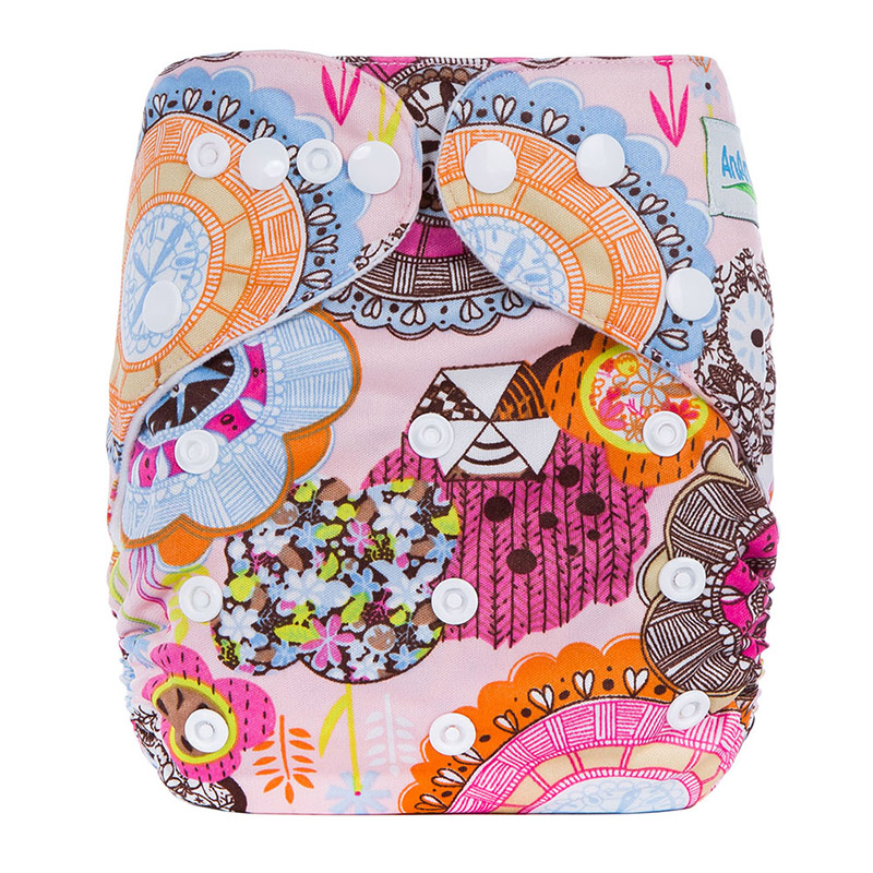 Cloth Nappies All In One Cloth Diaper Wholesale Prefold Reusable Baby Cloth Diapers J16